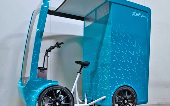 EAV launches first fully temperature-controlled eCargo bike to become a key part of the cold chain