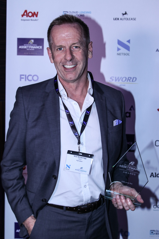 IAFN CEO of the Year, Nick Brownrigg